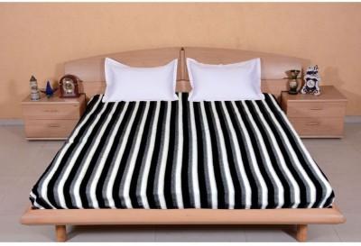 Casa Confort Cotton Striped Double Bedsheet