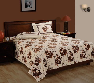 Oona Cotton Floral Queen sized Double Bedsheet
