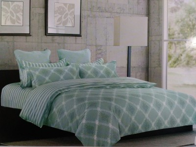 Stylla Home Cotton Abstract Double Bedsheet