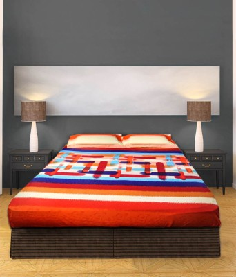 BLESED INTERNATIONAL Cotton Printed Double Bedsheet