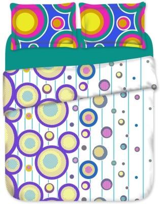 Birla Century Cotton Geometric Double Bedsheet