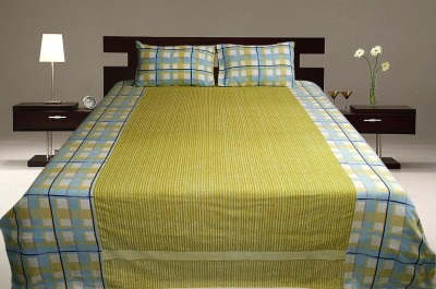 Sriam Cotton Floral Queen sized Double Bedsheet