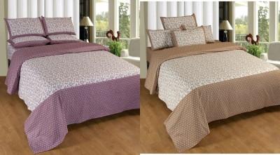 Decor Vatika Cotton Floral Double Bedsheet