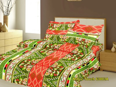 Nature Made Cotton Floral Double Bedsheet