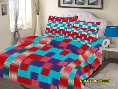 Nature Made Cotton Abstract Double Bedsheet