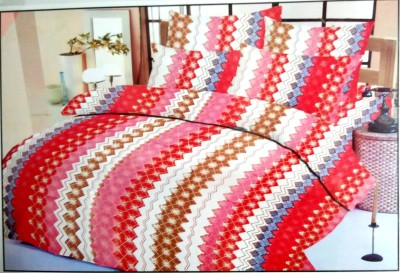 Utenseal Cotton Abstract Double Bedsheet