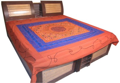 Shilimukh Cotton Abstract Double Bedsheet