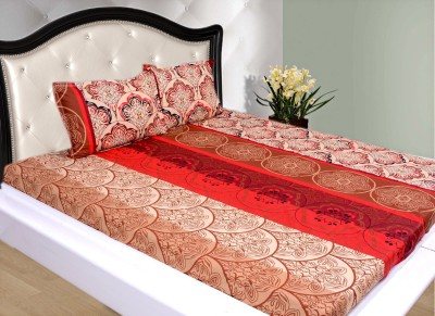 Olivia Cotton Printed Double Bedsheet