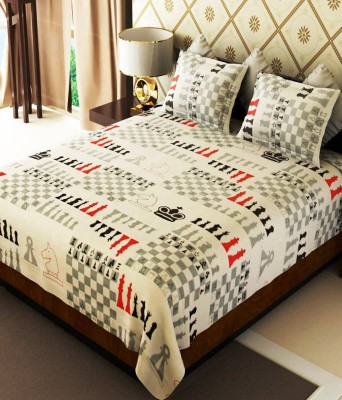 Fresh From Loom Cotton Printed Double Bedsheet