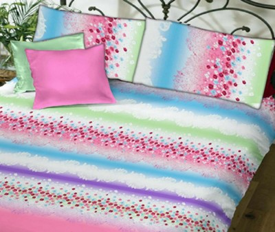 Beguile Cotton Floral King sized Double Bedsheet