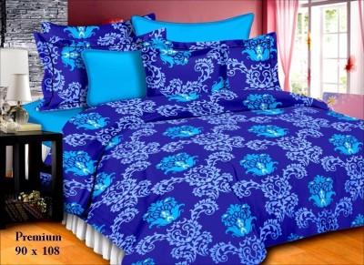 SurprizeMe Cotton Floral Double Bedsheet