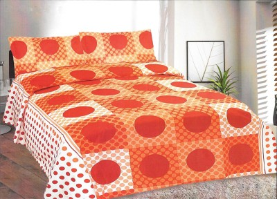 Goodwill Cotton Abstract King sized Double Bedsheet