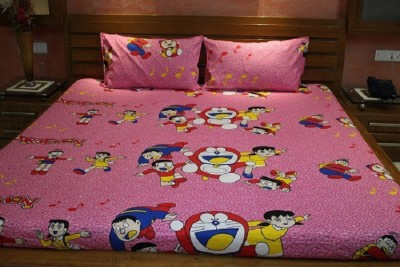 V-Tel Cotton Cartoon Double Bedsheet