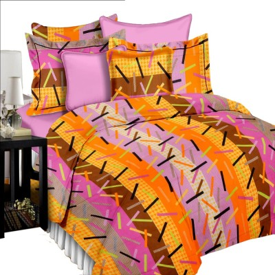 Shop Avenue Cotton Abstract Queen sized Double Bedsheet