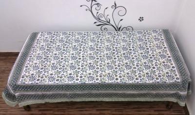 Ethnic Rajasthan Cotton Floral Single Bedsheet