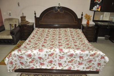 Lal Haveli Cotton Printed Double Bedsheet
