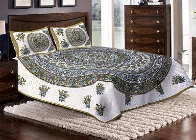 Jaipuri Haat Cotton Animal Double Bedsheet