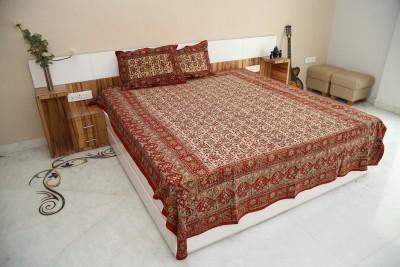 Exkklusiv Rajasthan Cotton Animal Double Bedsheet