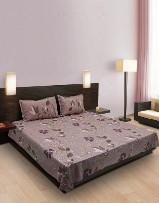 Home Stylerz Cotton Floral King sized Double Bedsheet