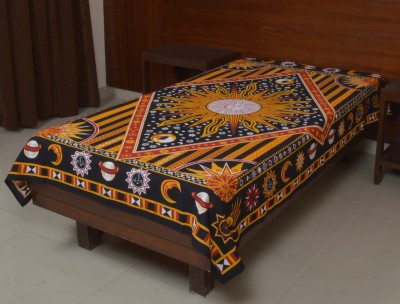 Jaipur Kala Kendra Cotton Self Design Single Bedsheet