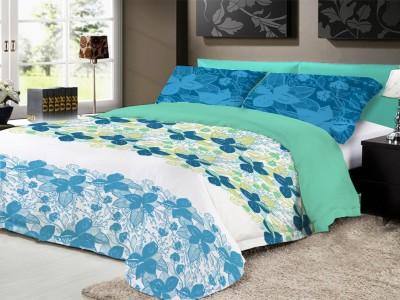 Ryancasa Cotton Printed Double Bedsheet