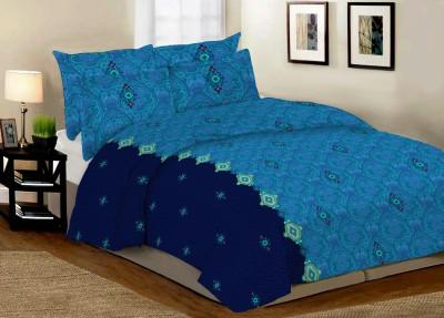 Desirica Cotton Printed Double Bedsheet