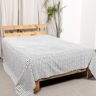 Ocean Home Store Cotton Printed Queen sized Double Bedsheet