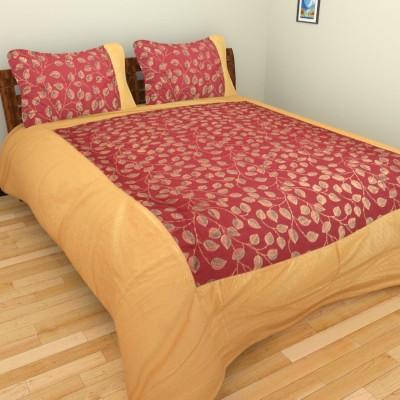 Rajkruti Cotton Floral Double Bedsheet
