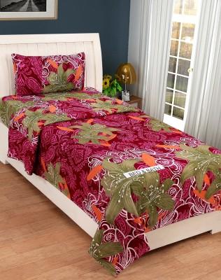Bed & Bath Polycotton 3D Printed Single Bedsheet