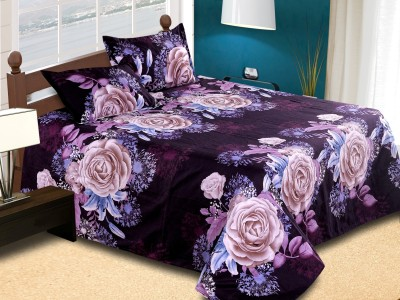 Home fragrance Cotton Floral Double Bedsheet