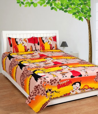 Bed & Bath Cotton Cartoon Single Bedsheet