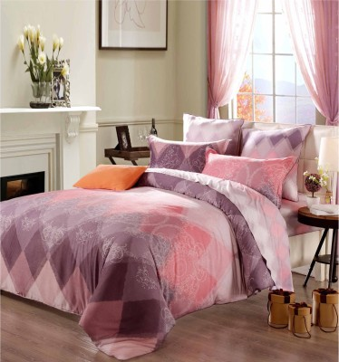 Sassoon Orro Cotton Self Design Queen sized Double Bedsheet