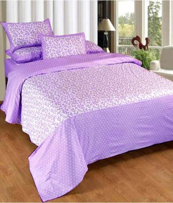 Newhome Cotton Abstract Double Bedsheet