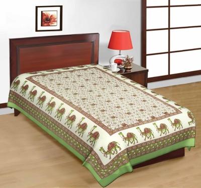 RajLaxmi Cotton Animal Single Bedsheet