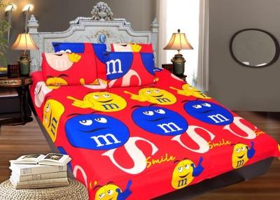 Decor Vatika Cotton Printed Queen sized Double Bedsheet