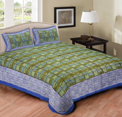 Bedding King Cotton Printed Double Bedsheet