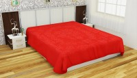 Fresh from Loom Polyester Floral Double Bedsheet(1 Double Bed Fleece Bed sheet Without Pillow Cover, Red) best price on Flipkart @ Rs. 923