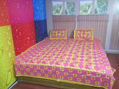 Unnati Polycotton Abstract Single Bedsheet