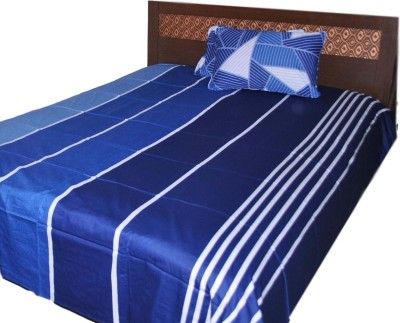 The perfect comfort Cotton Checkered Double Bedsheet
