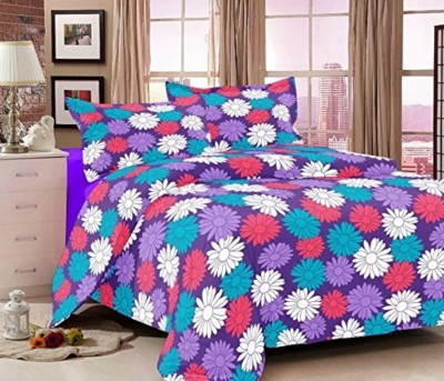 Reliable Trends Cotton Printed Queen sized Double Bedsheet