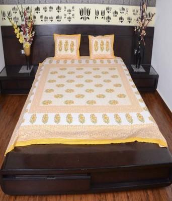 Uniq Collection Cotton Printed Double Bedsheet