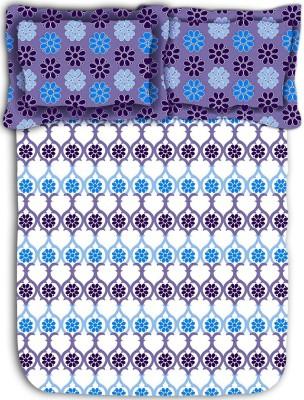 Mark Home Cotton Floral Double Bedsheet
