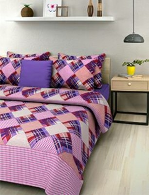 Mesmeric Cotton Printed Queen sized Double Bedsheet