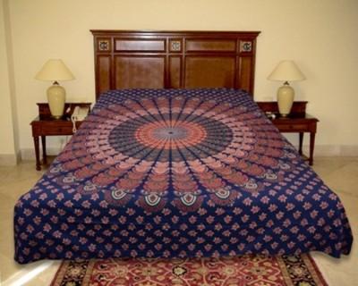 El Sandalo Cotton Printed Crib Bedsheet