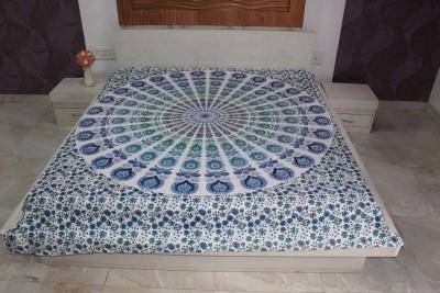 MARUDHARA Cotton Self Design Double Bedsheet