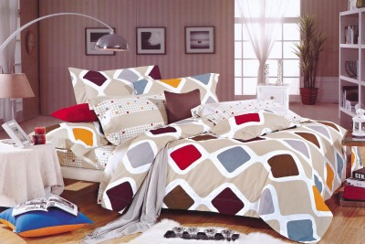 New Castle Cotton Abstract King sized Double Bedsheet