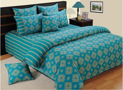Swayam Cotton Printed Double Bedsheet