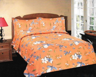 Kal Cotton Printed Queen sized Double Bedsheet