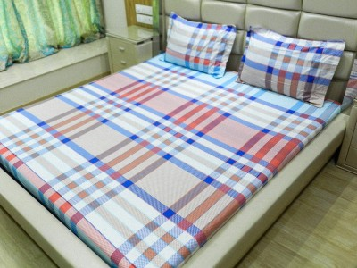 Gama Amor Cotton Abstract King sized Double Bedsheet