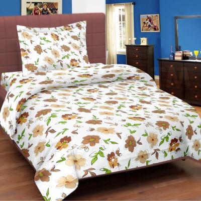 Cortina Cotton Floral Single Bedsheet